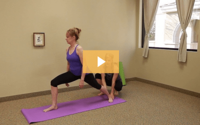 Yoga Poses Warrior One
