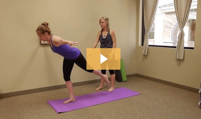 Yoga Poses Warrior Three