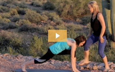 Yoga Poses Runner's Lunge